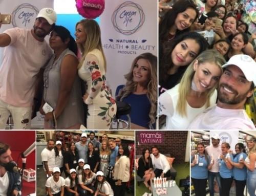 CARSON LIFE cierra de manera exitosa su gira por más de 24 ciudades,  visitando más de 75 tiendas Walgreens en USA